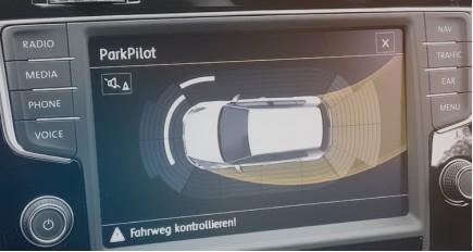 Parking Sensors Displaying