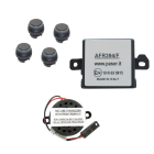 Kit Paser Evolution - Sensori di Parcheggio Flat Anteriori - Montaggio Interno - 17mm