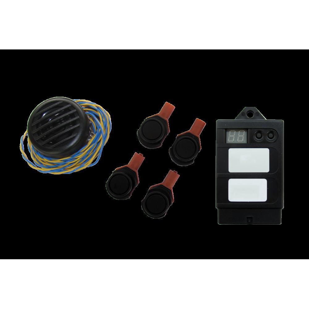 Paser Evolution Kit - Flat Front Parking Sensors - Internal Mounting - 18mm