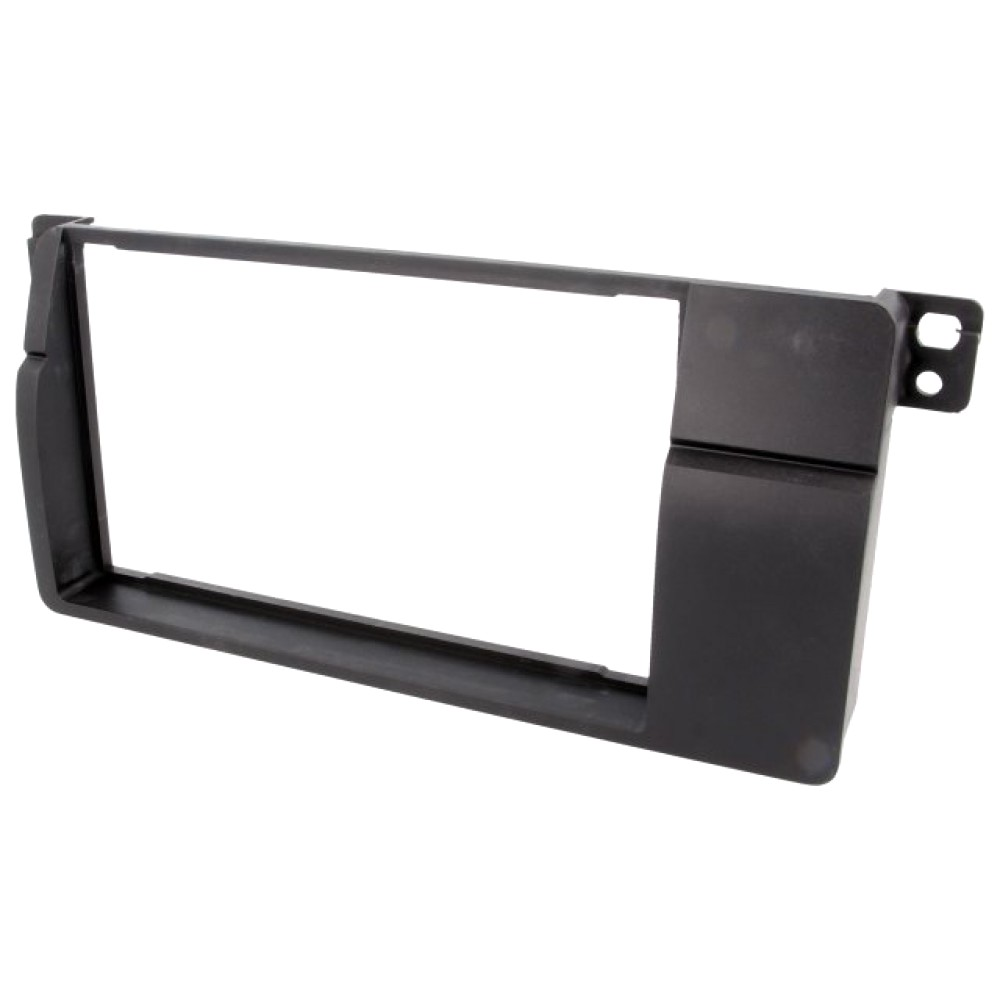 Radio Frame - Bmw Series 3 - 2DIN - Color: Black