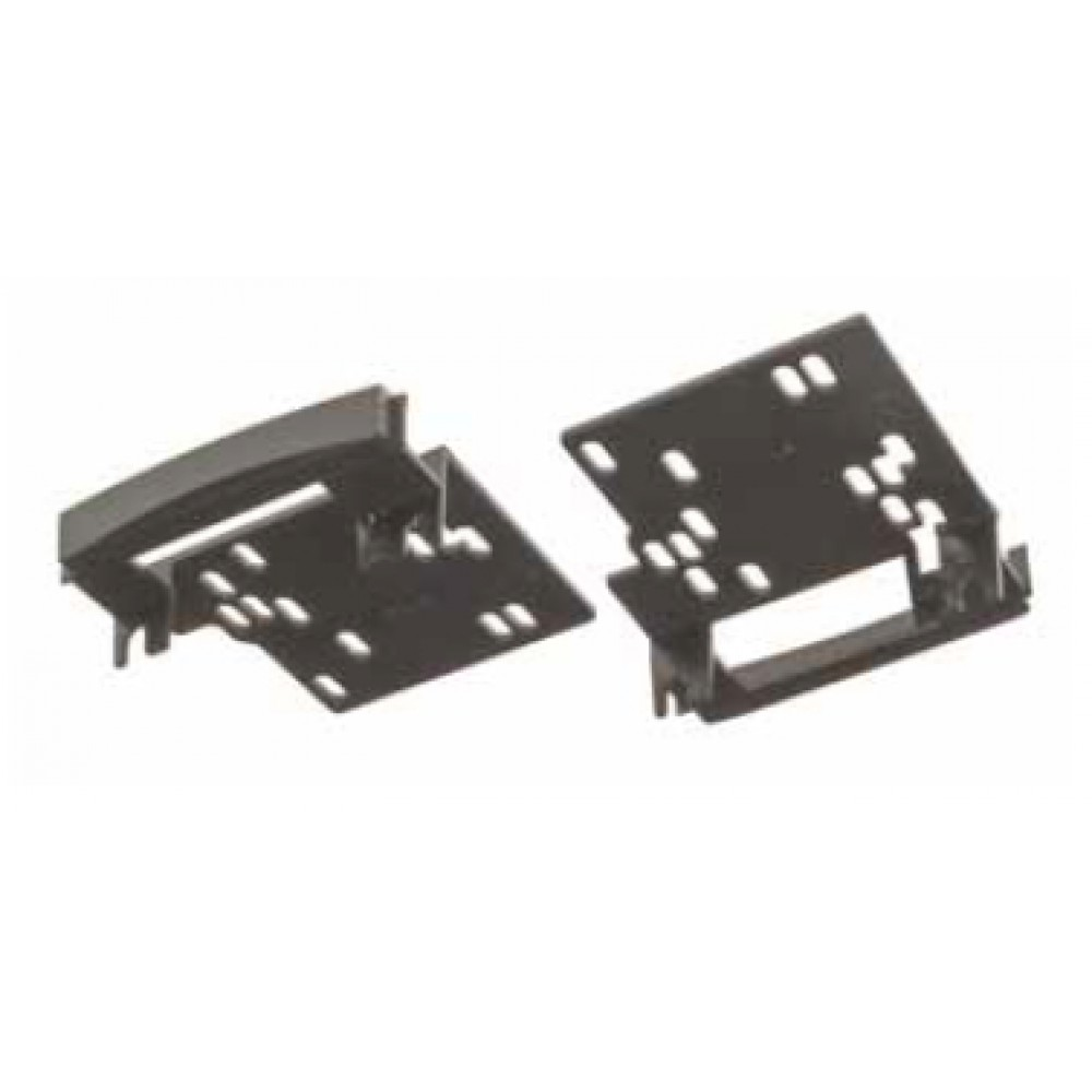 Radio Frame - Jeep Wrangler 2007, Chrysler Sebring 2007 - 2DIN - Color: Black