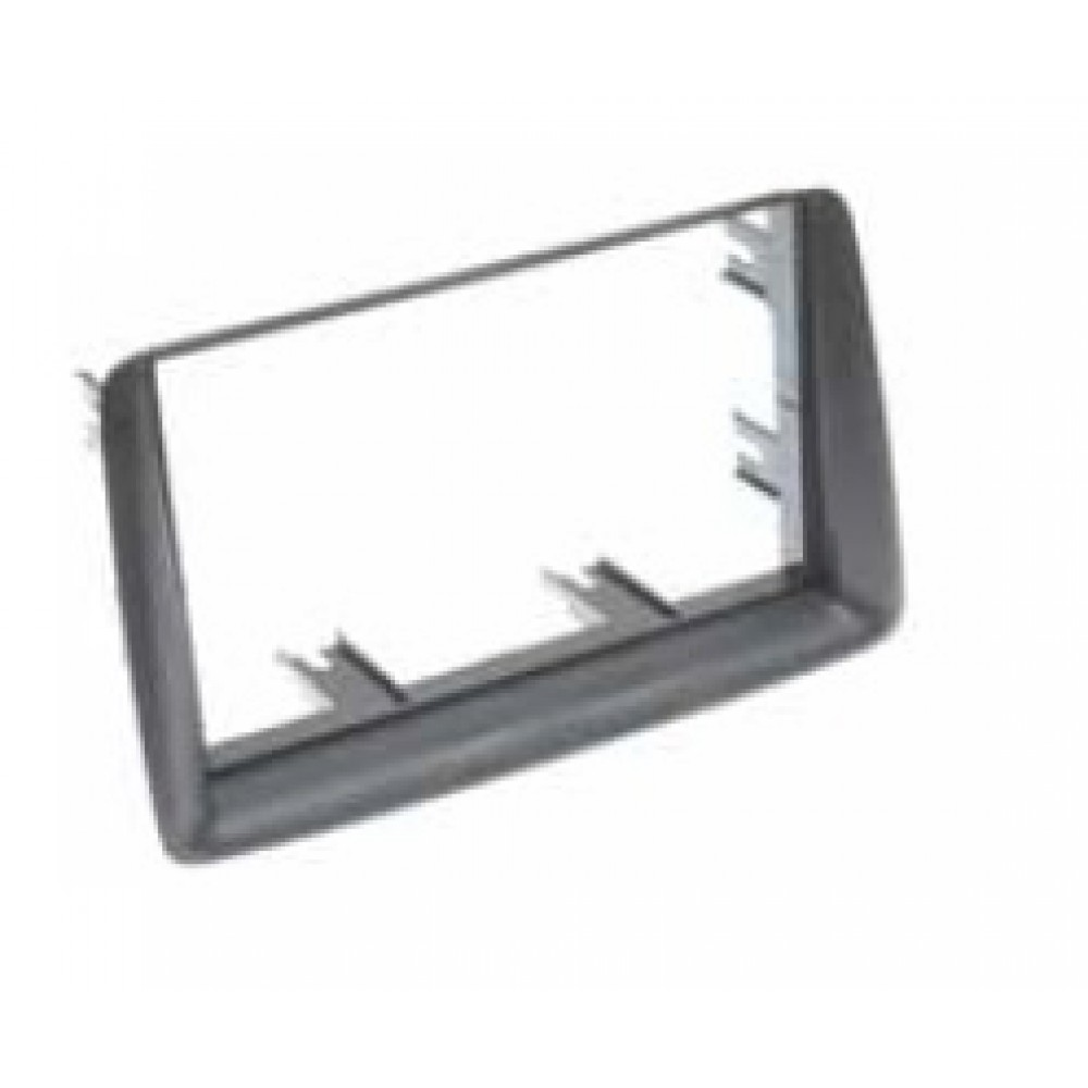 Radio Frame - Fiat Panda - 2DIN - Color: Grey