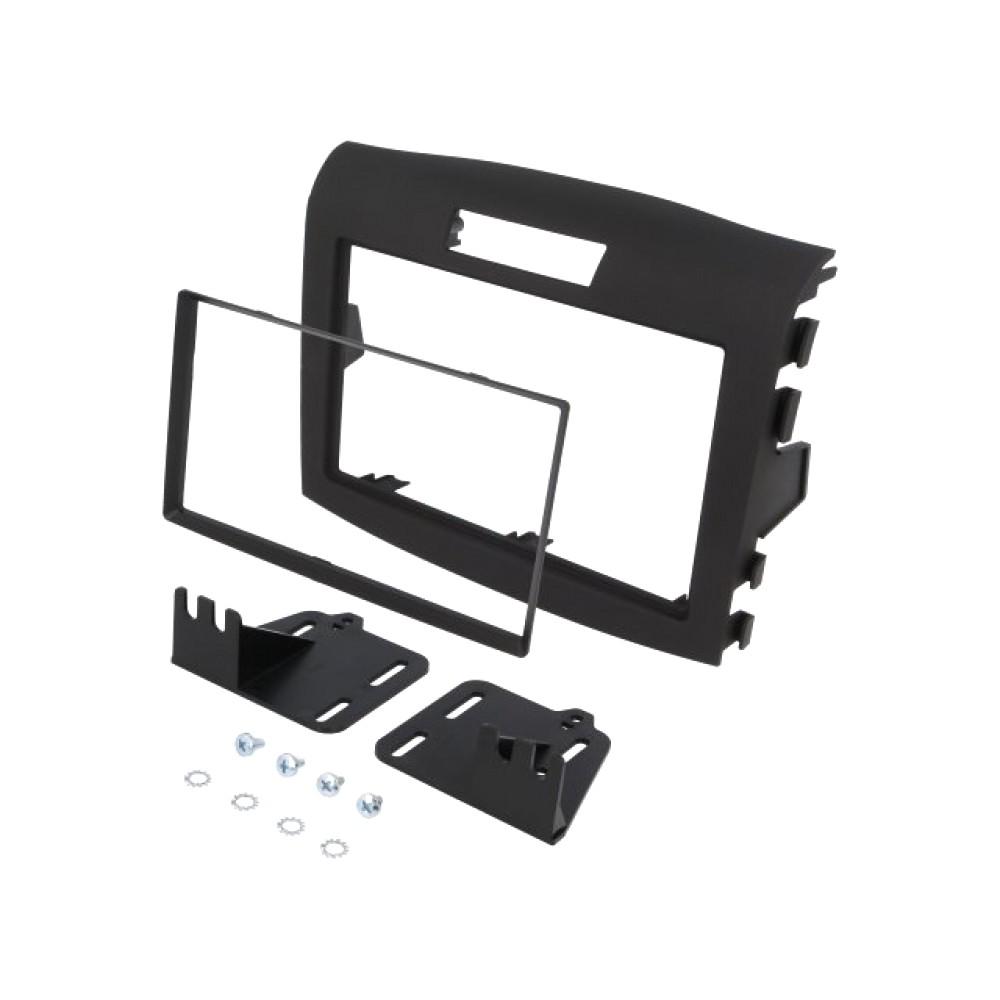 Radio Frame - Honda CRV - 2DIN - Color: Black