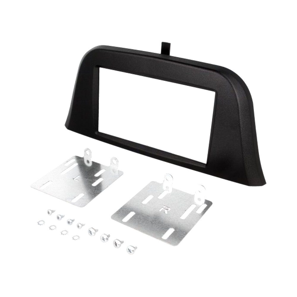 Radio Frame - Iveco Daily 2014 - 2DIN - Colour: Black