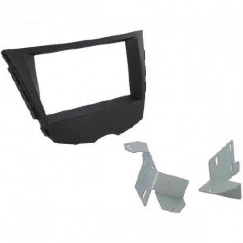 Radio Frame - Hyundai Veloster - 2DIN - Colour: Black
