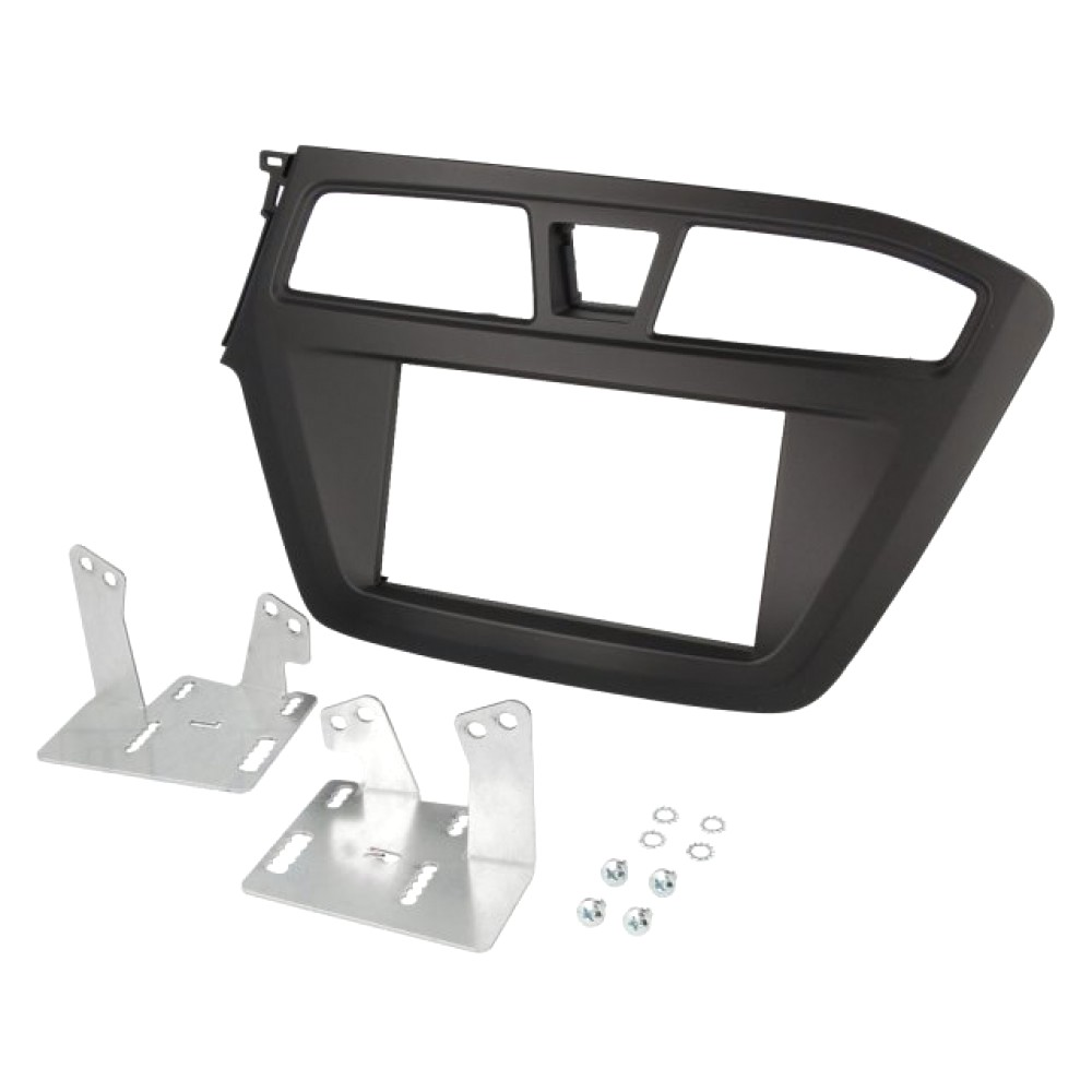 Radio Frame - Hyundai i20 2015 - 2DIN - Colour: Black
