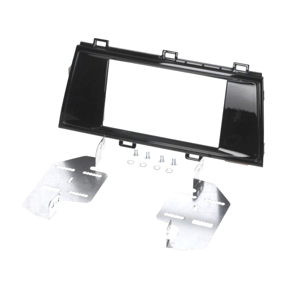 Radio Frame - Subaru Outback 2015 - 2DIN - Color: Bright black