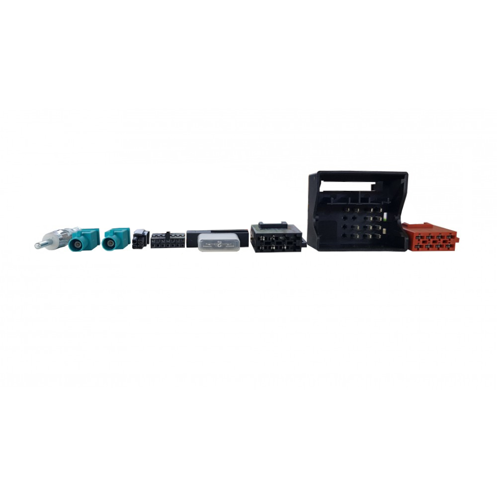 Plug&Play harness for Unican - Volkswagen (with double antenna)