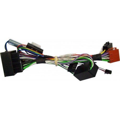 Plug&Play harness for Unico Dual - Audi (with amplifier)