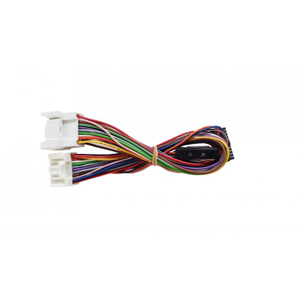 Plug&Play harness for MediaDAB 2.0 / MediaDAB 3.0 Blue / MediaDAB HD interface - Mitsubishi