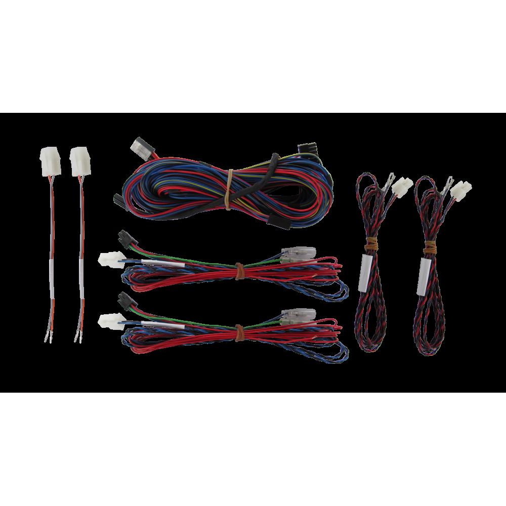 Videotronik 2.0 harnesses kit and Cobra front+rear parking sensors