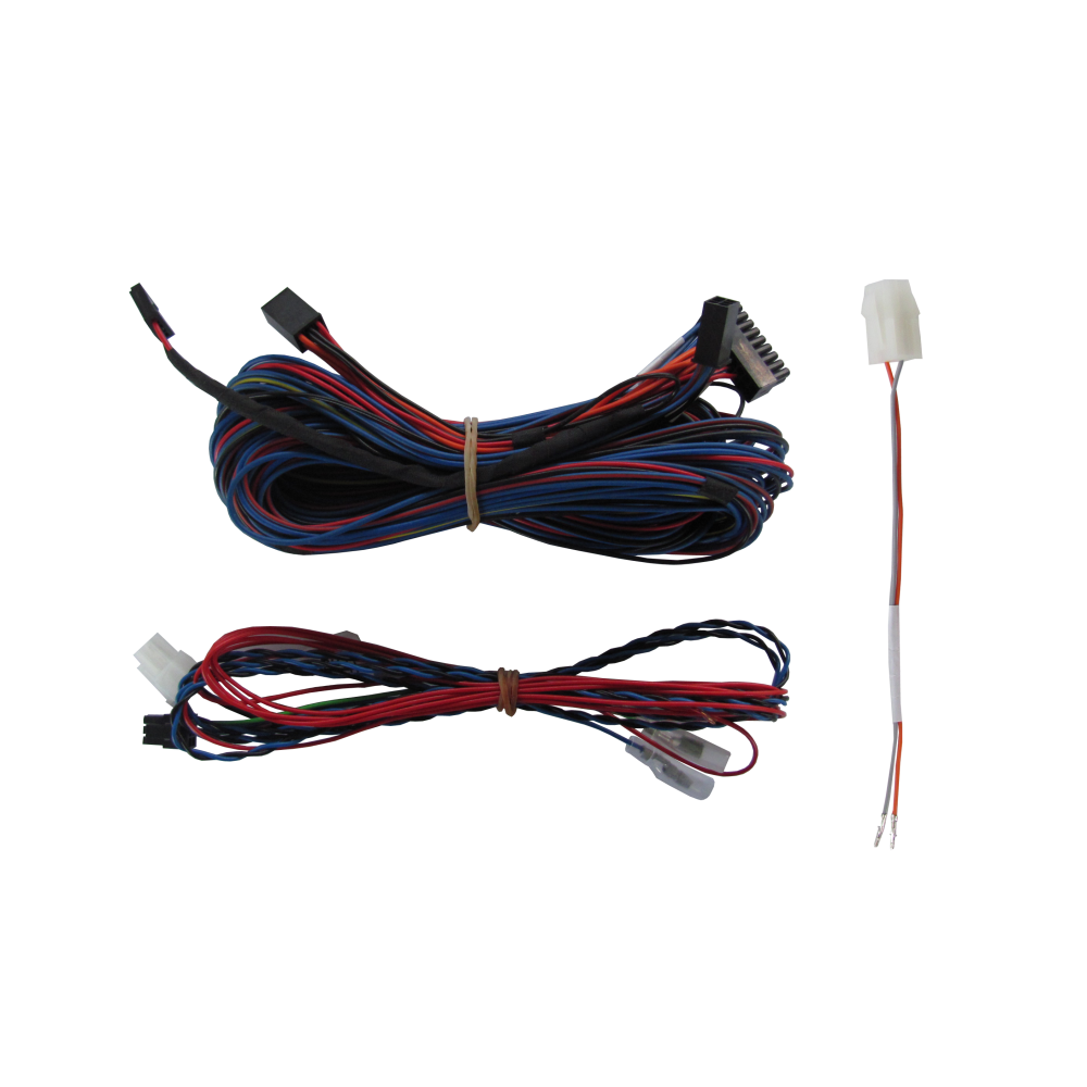 Videotronik 2.0 harnesses kit and Laserline rear parking sensors