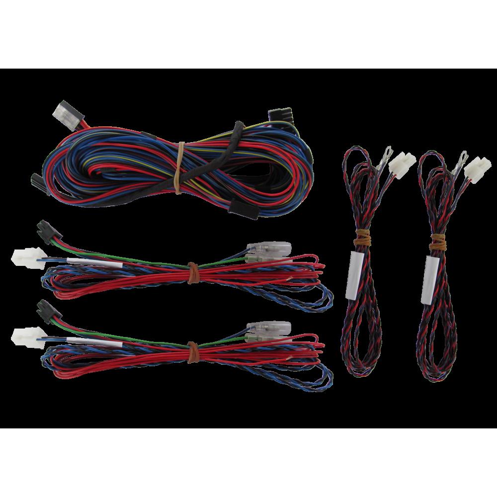 Videotronik 2.0 harnesses kit and MED GT front+rear parking sensors
