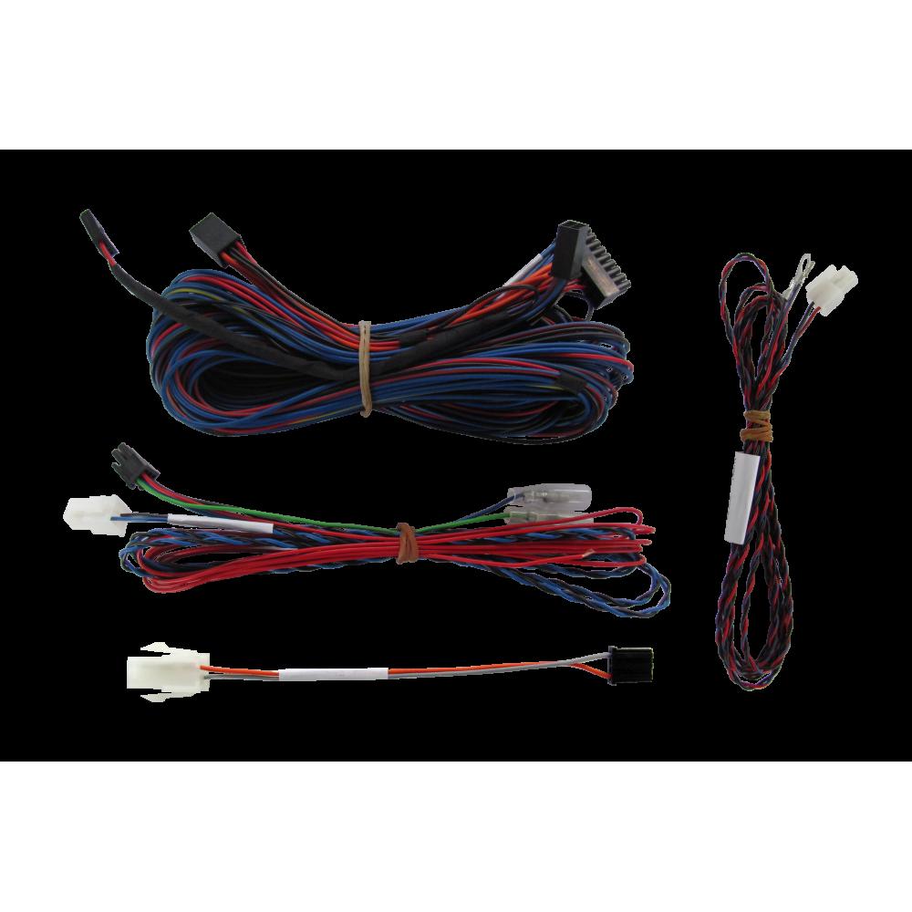 Videotronik 2.0 harnesses kit and Meta rear parking sensors