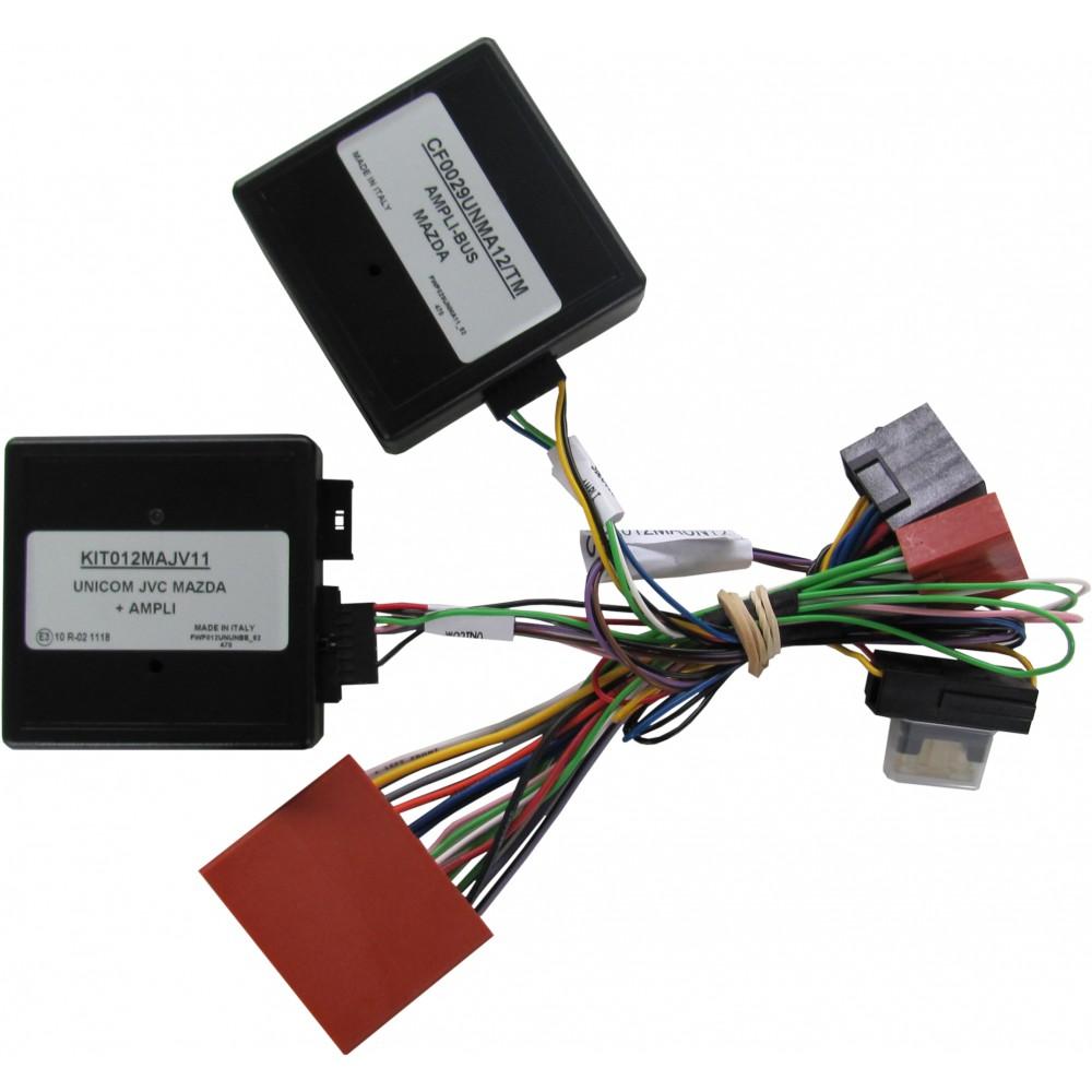 Kit Amplibus - Mazda - Clarion