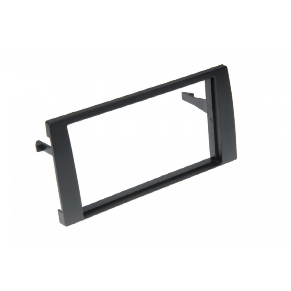 Radio Frame - Audi A4 - 2DIN - Color: Black