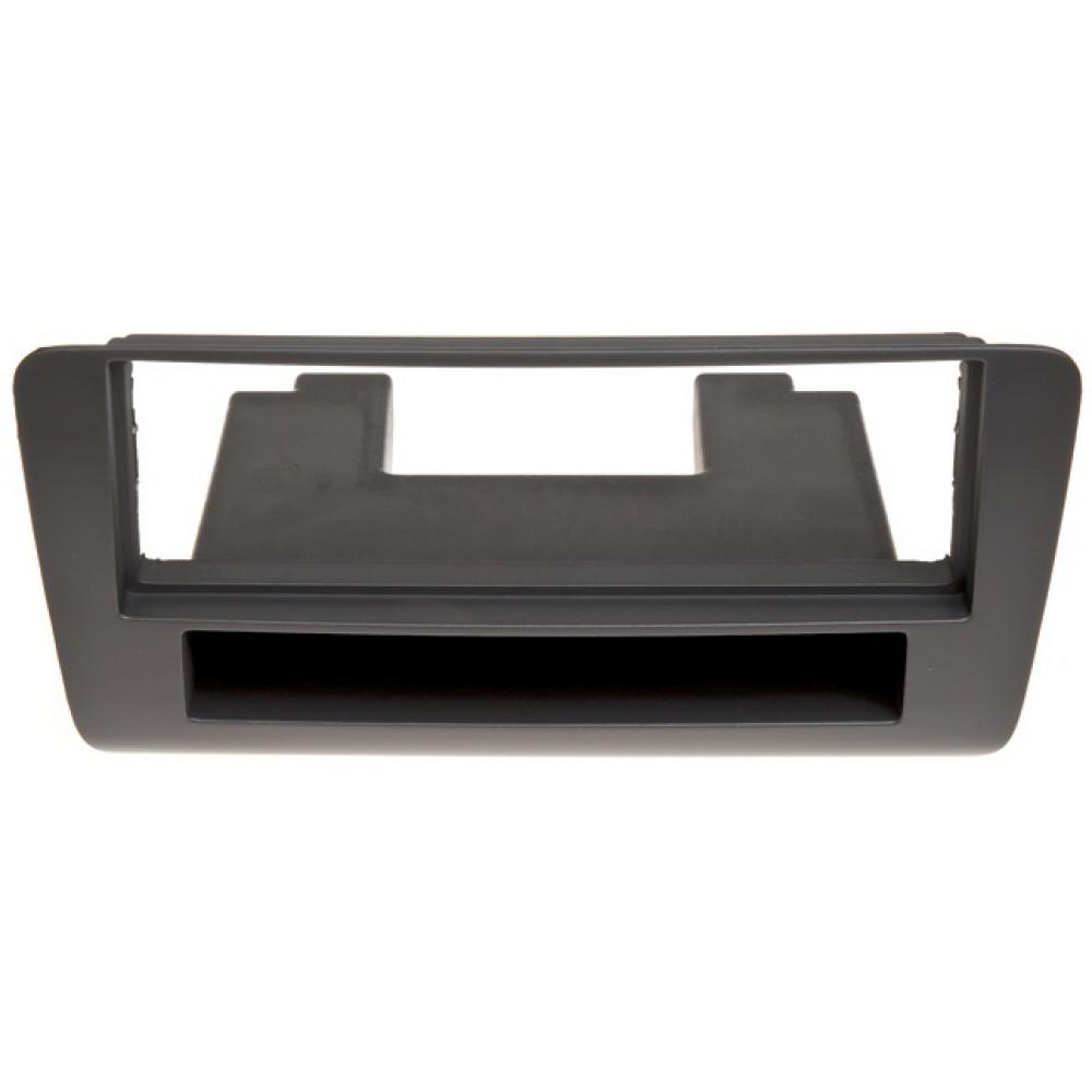 Radio Frame - Audi A1 - 2DIN - Color: Black
