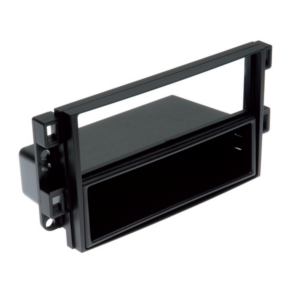 Radio Frame - Chevrolet Aveo - 2DIN - Color: Black