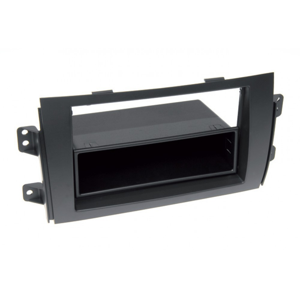 Radio Frame - Fiat 16 - 2DIN - Color: Black