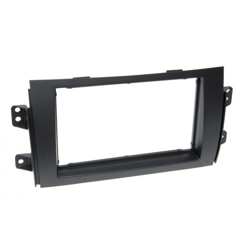 Radio Frame - Fiat 16 - 2DIN - Color: Black