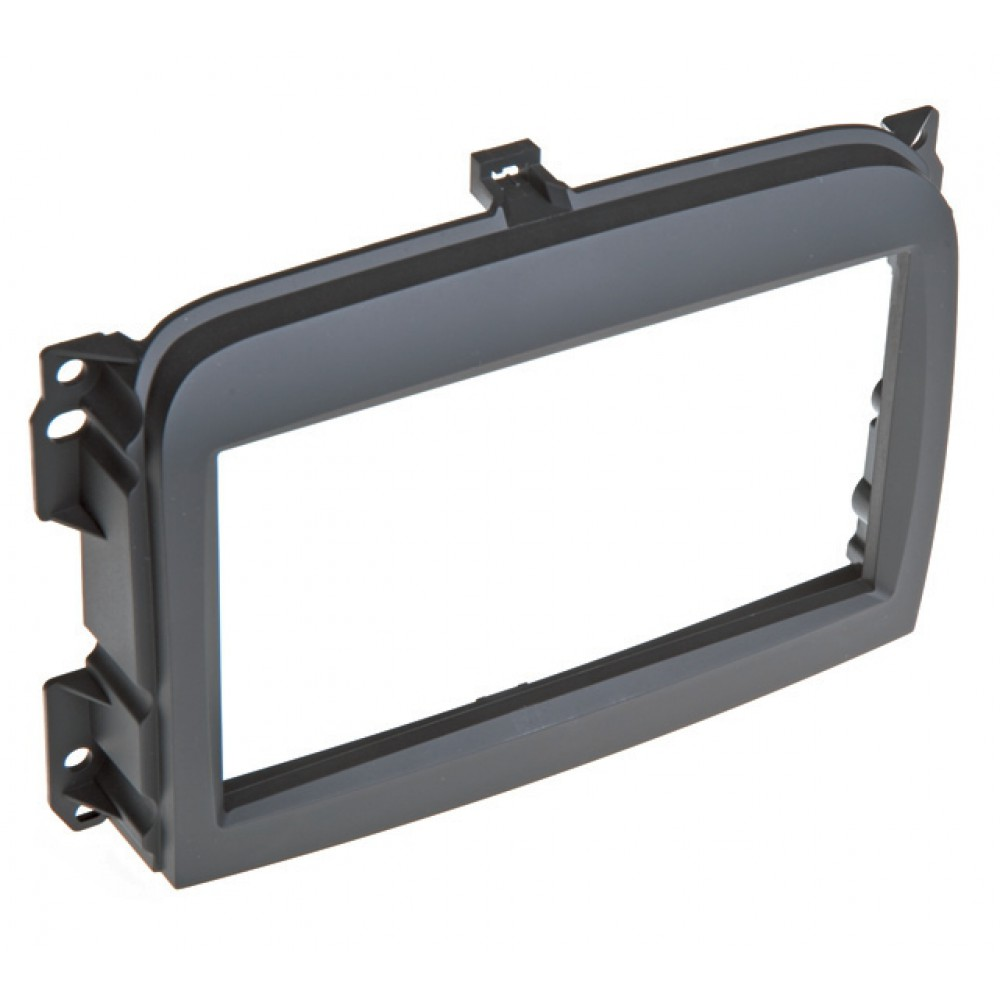 Radio Frame - Fiat 500L - 2DIN - Color: Black