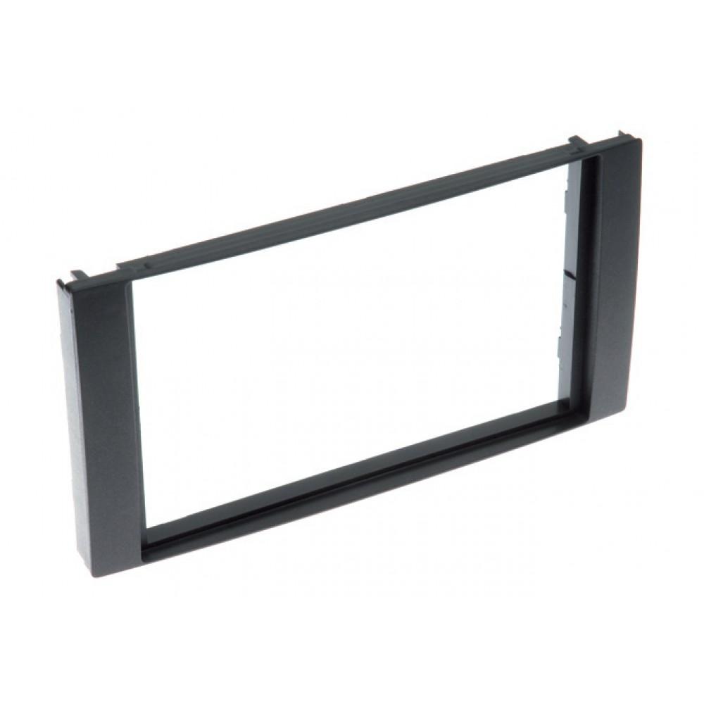 Radio Frame - Ford Focus/C-Max - 2DIN - Color: Black