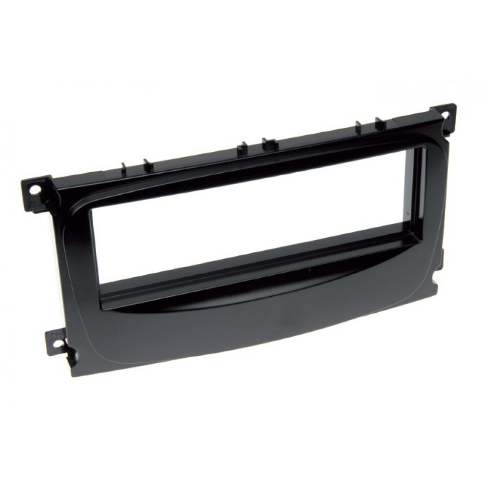 Radio Frame - Ford S-Max - 1DIN - Color: Black