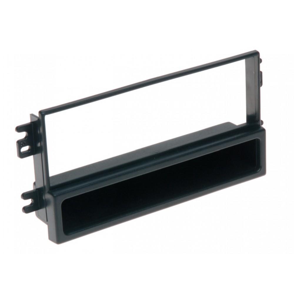 Radio Frame - Hyundai i20 2008 - 2DIN - Color: Black