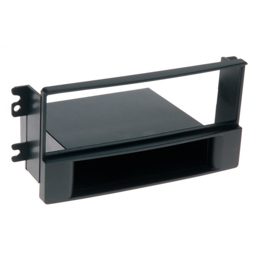 Radio Frame - Kia Sportage - 2DIN - Color: Black