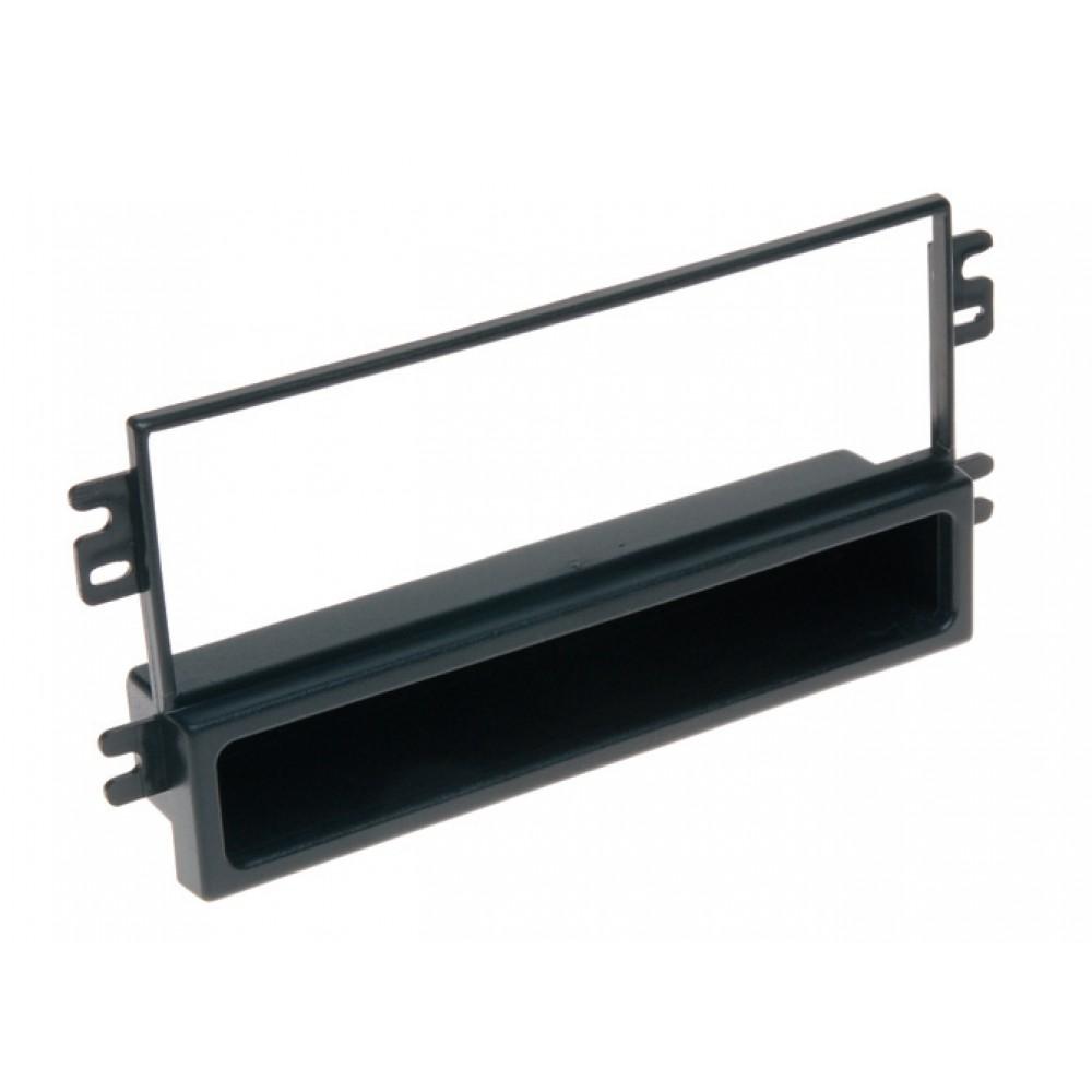 Radio Frame - Kia Carens - 2DIN - Color: Black