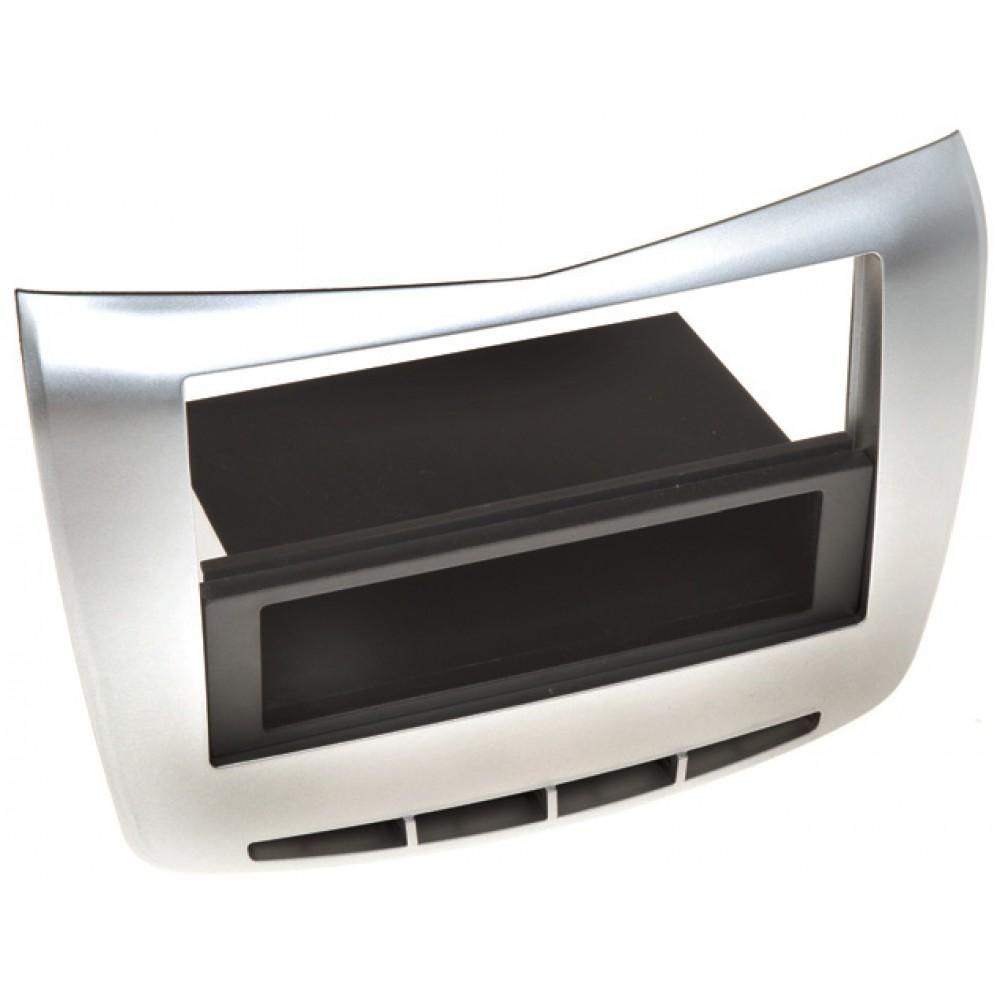Radio Frame - Lancia Delta - 2DIN - Color: Silver