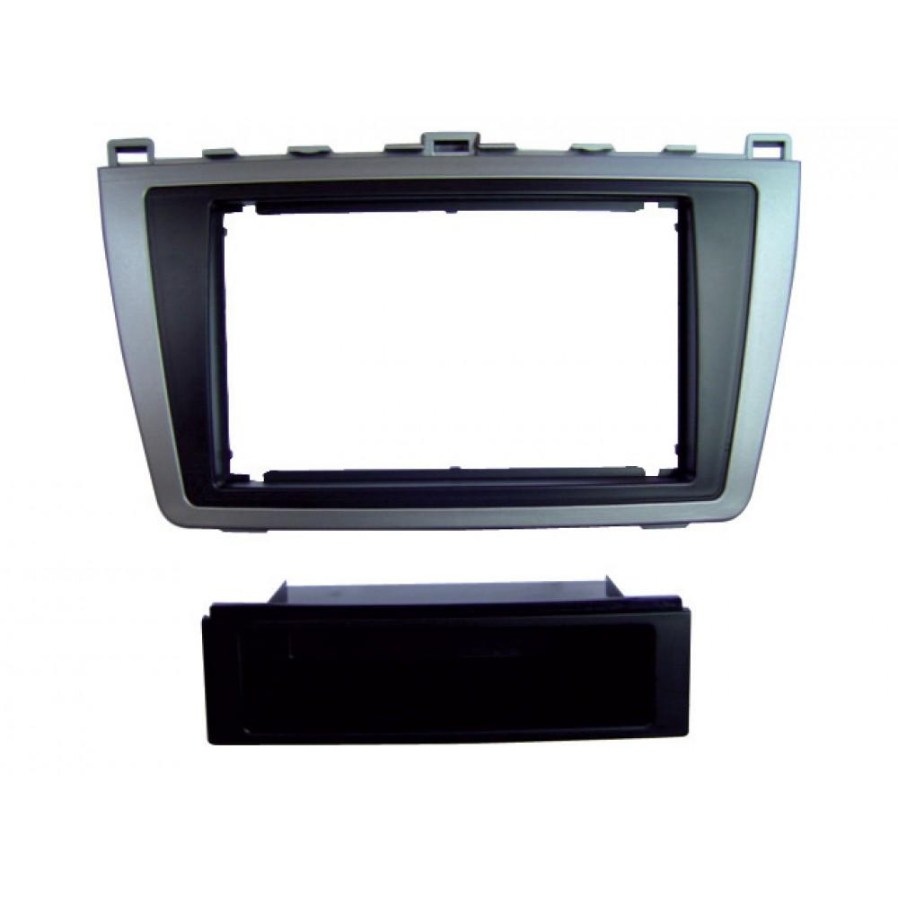 Radio Frame - Mercedes Class E - 2DIN - Color: Black
