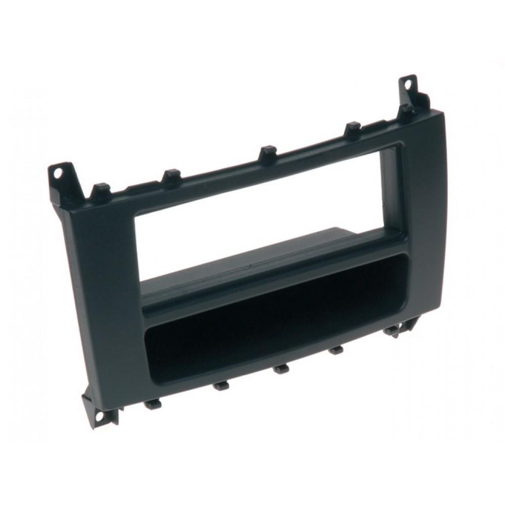 Radio Frame - Mercedes Class C - 2DIN - Color: Black