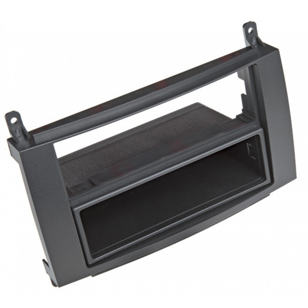 Radio Frame - Mercedes Class A - 2DIN - Color: Black