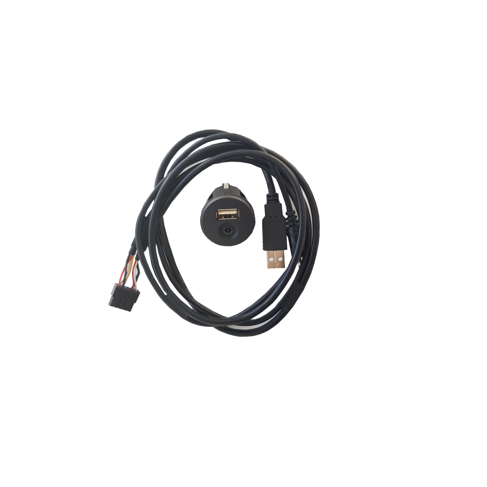 Universal USB/AUX adapter harness