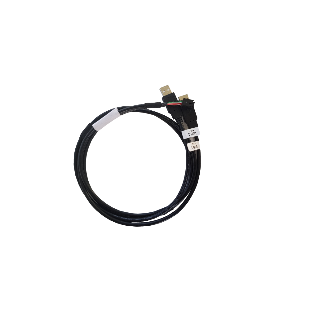 USB recover adapter harness with 2 sockets