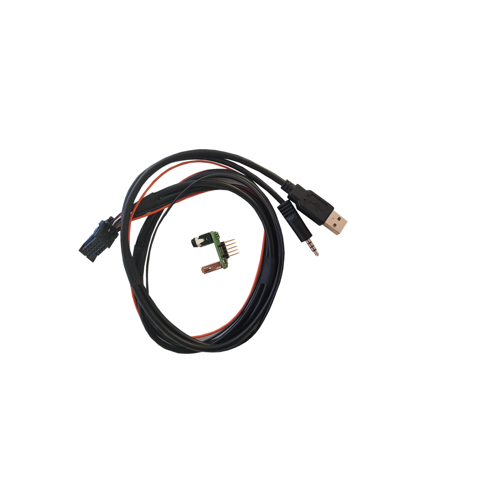Harness with circuit to recover USB/AUX compatibility: ALFA ROMEO - FIAT group