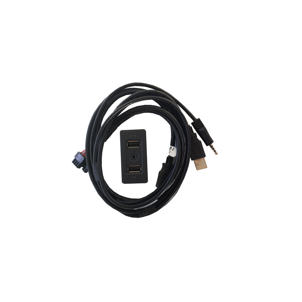 USB/AUX recover Harness with circuit, compatibility: VOLKSWAGEN