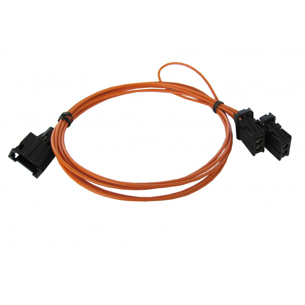 Plug&Play harness for MEDIADAB MOST (optical fibres)