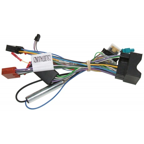 Plug&Play harness for Unican - Audi (with amplifier)