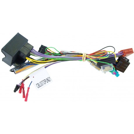 Plug&Play harness for Unican - Opel Corsa D