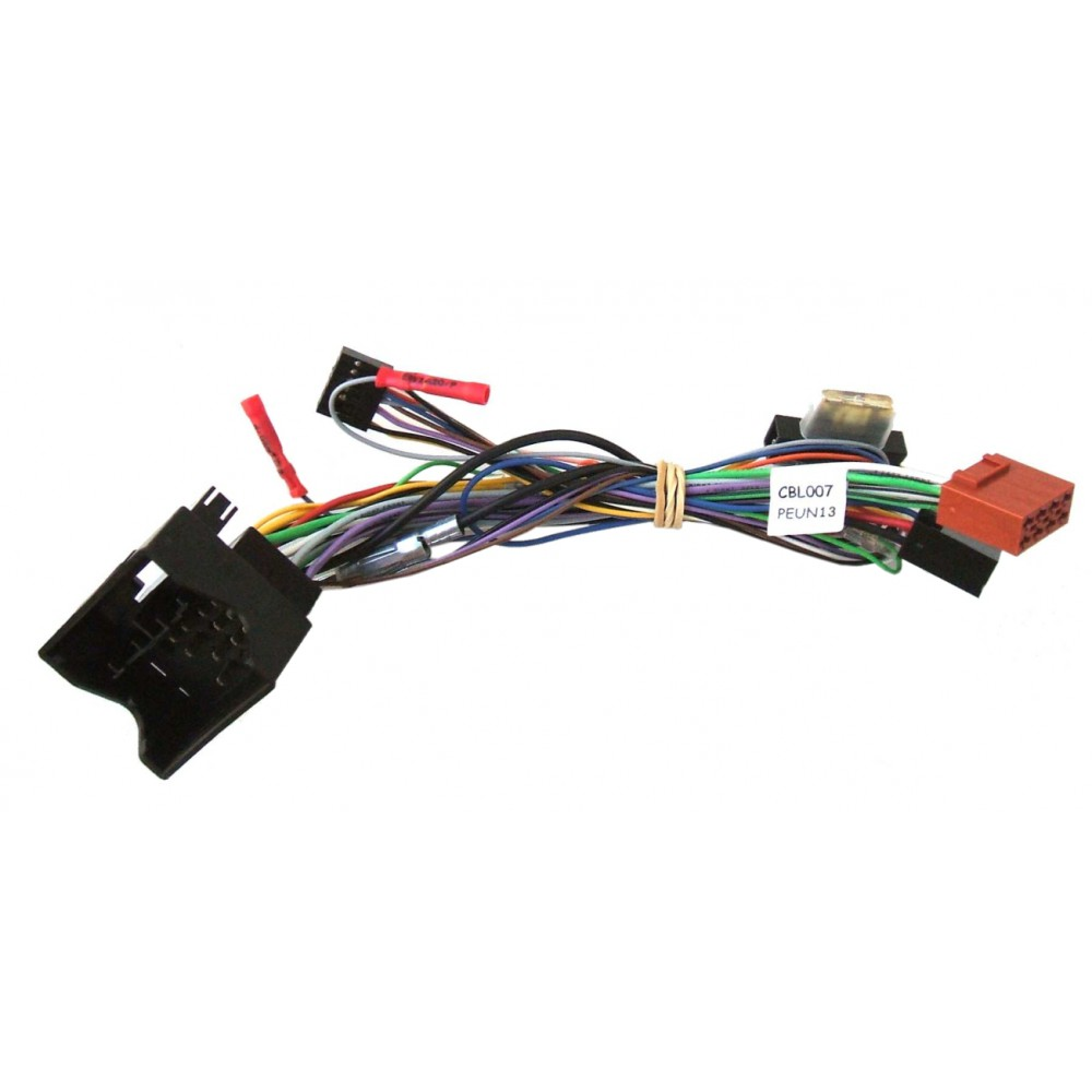Plug&Play harness for Unican - Peugeot/Citroen