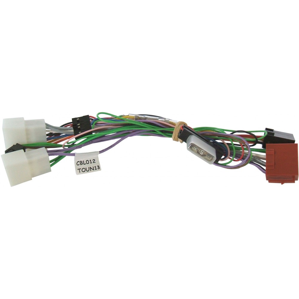 Plug&Play harness for Unicom - Toyota
