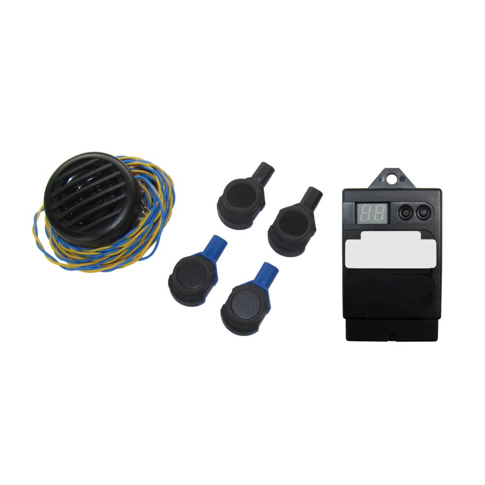 Paser Evolution Kit - Flat Rear Parking Sensors - Internal Mounting - 18mm