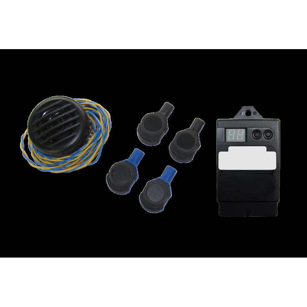 Kit Paser Evolution - Sensori di Parcheggio Flat Posteriori - Montaggio Interno - 18mm