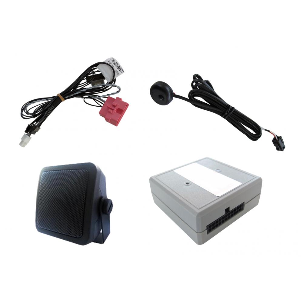 Jingle AVAS 2.0 - Avvisatore acustico per auto elettriche / ibride (antenna GPS non inclusa)